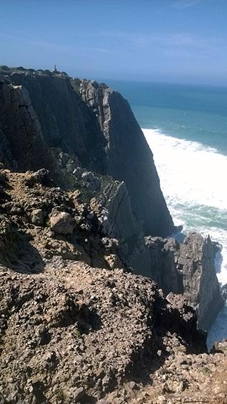 Praia Grande - estratos na vertical 1