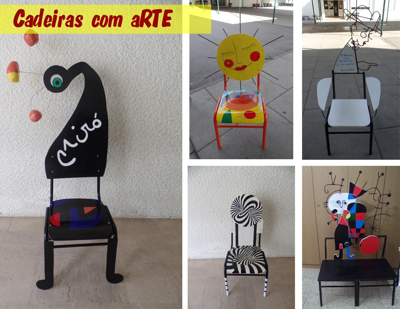 Cadeiras com Arte