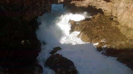 Boca do Inferno - abrasão marinha 1